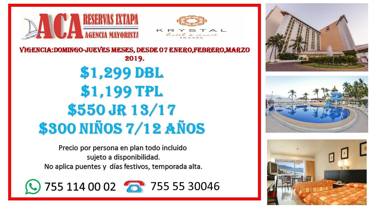 ofertas en hoteles de ixtapa zihuatanejo, promociones de hoteles frente a la playa, agencias de viajes en ixtapa zihuatanejo, hospedaje en el hotel krystal ixtapa, los mejores precios de hoteles en zihuatanejo